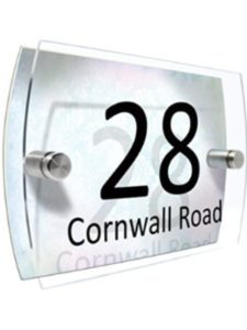 CS PRINTING LIMITED    house number sign lights