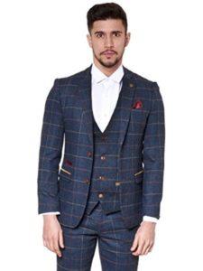 Marc Darcy London jacket  herringbone patterns