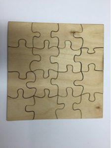 Derwent Laser Craft jigsaw craft