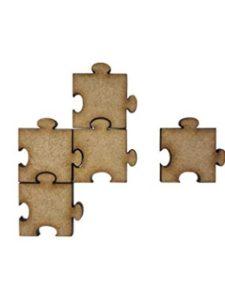 The Crafty Cow jigsaw craft
