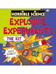 Horrible Science - Explosive Experiments lava lamp  science experiments