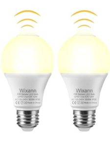 wixann light fixture  motion detectors