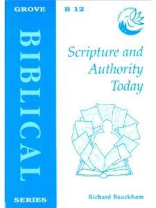 Richard Bauckham lost sheep  bible stories