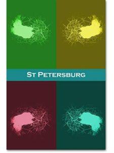 // TPCK // map russia  st petersburgs