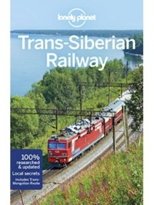 Lonely Planet map russia  trans siberian railways