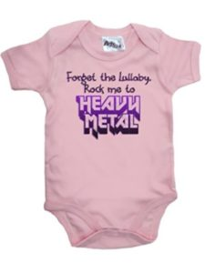 DCOCY onesies  heavy metals