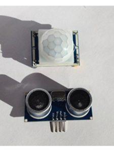 MTS1EU raspberry pi 3  ultrasonic sensors