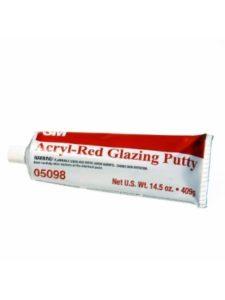 3M red  glazing putties