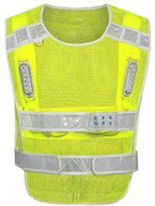 KERVINZHANG red  safety vests