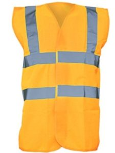 Universal Textiles red  safety vests