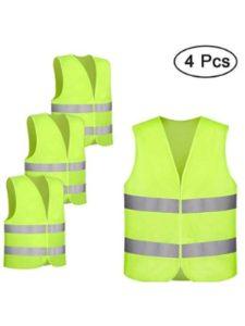 otumixx red  safety vests