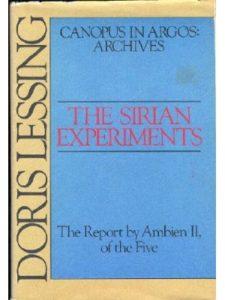 Doris May Lessing report  science experiments