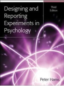 Peter Harris report  science experiments