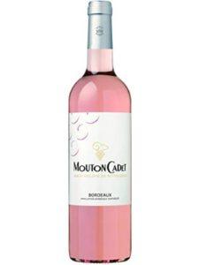 Mouton Cadet rose  bordeaux wines