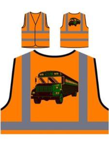 INNOGLEN school bus  safety vests