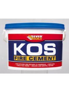 Everbuild sealant  fire cements