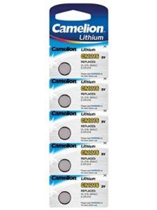 Camelion shelf life  lithium ion batteries
