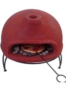 Gardeco & Tigerbox small  clay pizza ovens