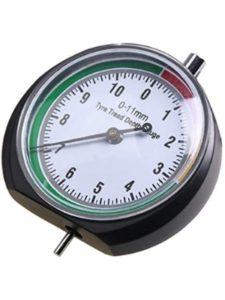 Detectoy depth gauge