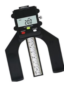 Sharplace depth gauge
