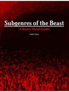 lulu.com subgenres  heavy metals