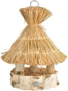 Esschert's Design thatched roof  bird tables