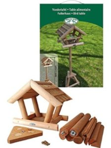 Fallen Fruits thatched roof  bird tables