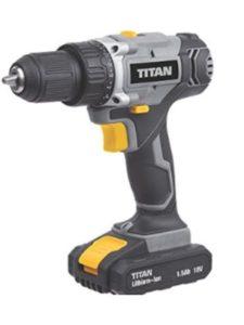 TITAN cordless drill battery