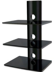bracketsales123 tv wall mount  glass shelves