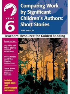 Ann Webley year 6  short stories