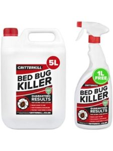 CRITTERKILL zeroin 300ml  bed bug killer sprays