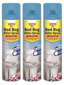 amazon zeroin 300ml  bed bug killer sprays