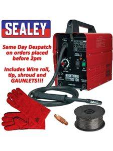 Sealey 100amp  gasless mig welders