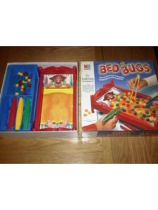 MB GAMES / MILTON BRADLEY   bed bugs without blood