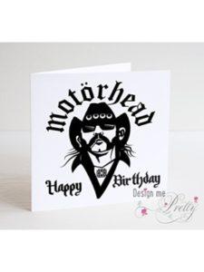 Design Me Pretty birthday card  heavy metals
