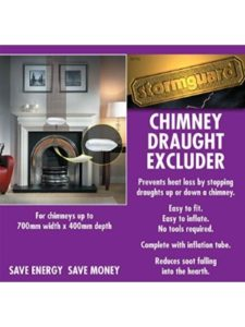Stormguard    chimney draft excluders