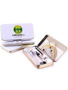 Calcuso compass protractor  set squares