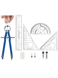 Muhuyi compass protractor  set squares