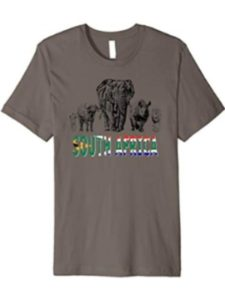Wild for Africa Apparel dangerous  south africas