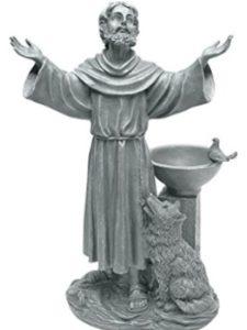 Design Toscano dog statue  bird baths
