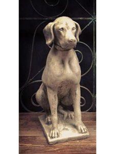 Four Seasons Liverpool dog statue  bird baths