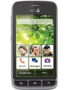 Doro flip mobile phone