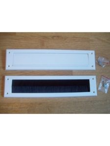 IRONMONGERY WORLD® draught excluder letterbox  cover flaps