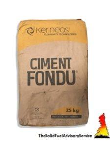 CIMENT FONDU    fire clay cements
