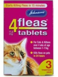 Johnsons flea oral  treatments