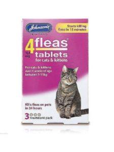 John-sons flea pregnant cat  treatments