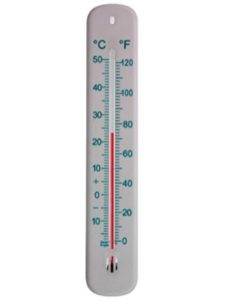 Thermometer World wall thermometer