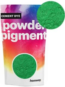 Hemway green  cement dyes