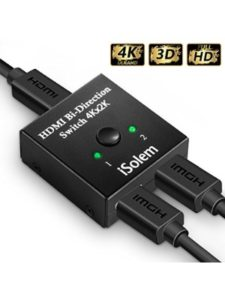 ISOLEM hdmi monitor  switch boxes