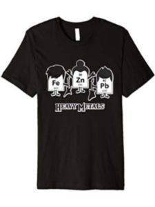 Chemistry Pun Shirts heavy metal chemistry